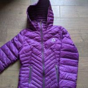 Gerry Purple Down Jacket Size Small